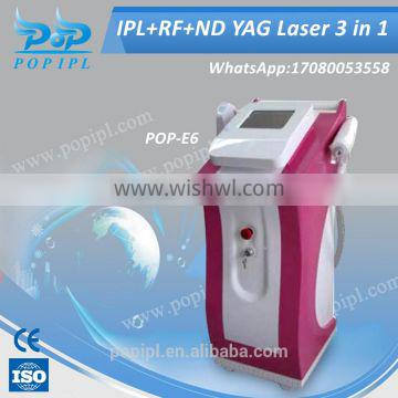 laser hair removal machine ipl rf shrmachine IPL SHR Elight Muti-functional beauty Hair Removal+Tattoo Removal 2000w ipl lamp