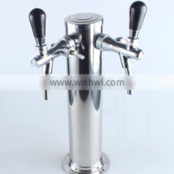 XSdraft beer tower with double holes