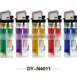 LED flint lighter can pass 55 degree with 12 angle