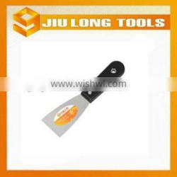 with plastic handle stainless steel putty knife