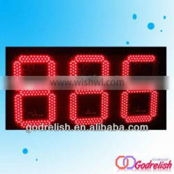 Large day led countdown timer,outdoor 999 timer
