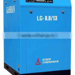 LG series screw type industrial air compressor for sale good quality stationary electric air compressor for sale