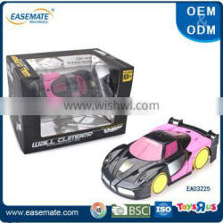 New arrival remote control wall climbing car for kids