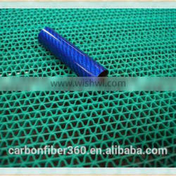 Hot selling price of carbon fiber tube , carbon fiber tube with color