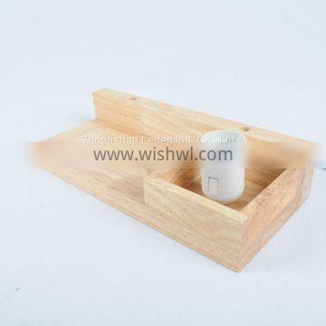 Wooden Wall Lamp wall light with Wooden Rack