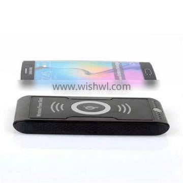 QI wireless portable phone charger, universal for iphone samsung android charger 8000mah