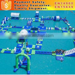 outdoor inflatable aqua park exciting inflatable water sport games