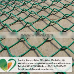 Anping manufacturer sport field chain link fence hot dipped galvanized