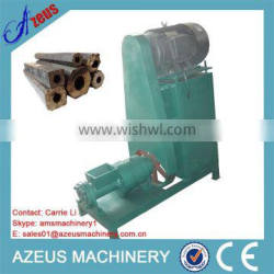 Wood sawdust briquette extruder machine for making charcoal