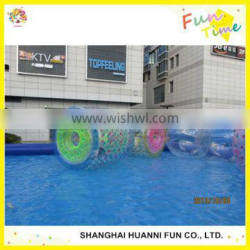 2015 newly design PVC 1.0mm Inflatable Water Walking Roller ball made in China