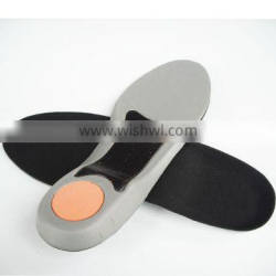 Arch support EVA resin insole shock absorption cushion insole for sport shoes environmental athletic insoles