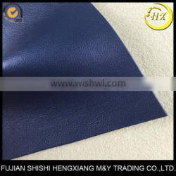 Nonwoven Backing PU Material Imitation Leather,Color Change By Heat Stamp