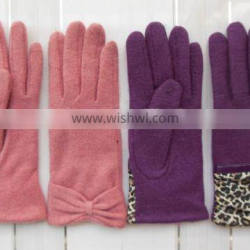 Lady Touch Screen Gloves from China