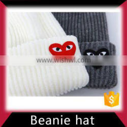 Knitted beanie hat custom in factory price