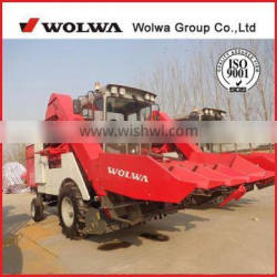 W4YM-4N new model 4 rows Self-propelled corn harvester machine made in china