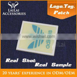 High Quality soft rubber label and tags 3d embossed silicone rubber label for cloth