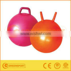 hot sell PVC toy jumping pop ball with handle