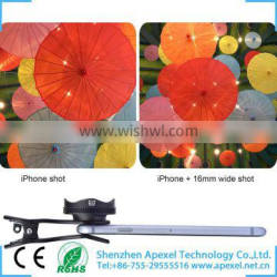 Universal 2 in 1 Mobile Phone Camera Lens for Mobile Phone iPhone Camera Lens