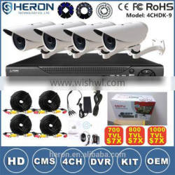 Outdoor Usage white Exterior cctv for security camera system