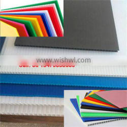 PP hollow plastic sheet/board for flooring and construction protection