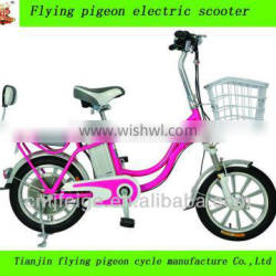 """wholesale flying pigeon lithium battery e-bike 16"""" electric city bicycles"""