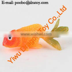 Hot sale high quality sea animal decorative goldfish toy