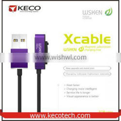 WSKEN High Qulity For Sony Magnetic Micro USB Charging Cable