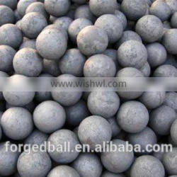 High hardness grinding low price forged steel ball for ball mill, cement plant