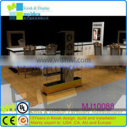 High end glass display/led glass display/Modern style jewelry glass display showcase for sale