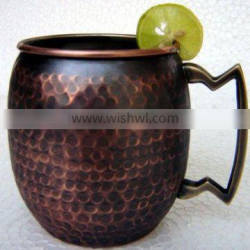 Moscow Mule Hammered COPPER MUGS