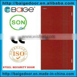 BG-F9003 Cheap Residential Fire Rated Steel Doors