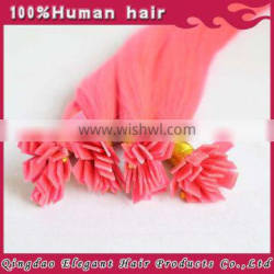 2015 new style No Shedding Remy flat tip Double Drawn Virgin Hair