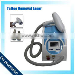 Haemangioma Treatment 2016 CE Approved Best-selling Safe And Effective 1500mj Portable Q Switch Nd Yag Laser Tattoo Removal Machine