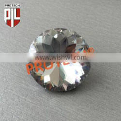 22mm upholstery crystal buttons with nail for bed headboard/sofa