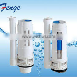 Sanitary WC toilet dual flush valve fit for one piece toilet- Fenge Toilet Fittings
