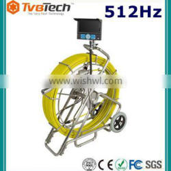 Industrial Endoscope 23mm Camera Video Pipeline Plumbing Inspection Pipe Borescope With 512Hz Sonde