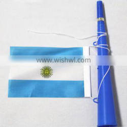 Argentina football cheering plastic toy party fan horn