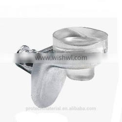 Nickel cable glass shelf supports