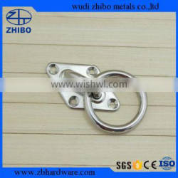 STAINLESS STEEL RIGGING HARDWARE SQUARE EYE PLATE