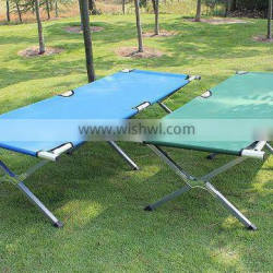 Outdoor furniture metal folding bed new style