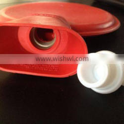 round Hot water bottle 1200ml red color