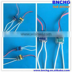 5*1W constant current led drivers 300ma 12v