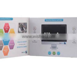 """4.3"""" inch LCD Video Catalogue, Lcd Tft Advertising display card OEM"""