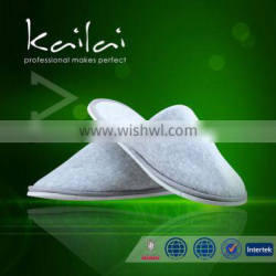hotel slippers with nonslip dotted cloth sole/Colorful Customize Slipper For Hotel And Beauty
