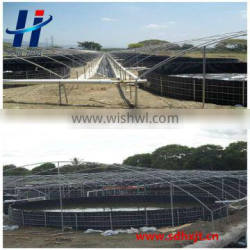 HDPE Material and Geomembranes Type waterproof liner HDPE geomembrane cheap price for pond and lake dam geomembrane