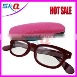 Fashion wholesale plastic injection reading glasses magnetic