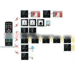smart home kit wireless touch wall switches for home/office/hotel