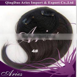 wholesale Synthetic Hair Fringe ,clip on synthetic hair bangs clip in hair fringe bangs