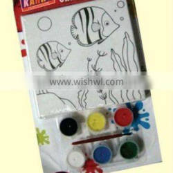well sale paint frame and canvas set for kids