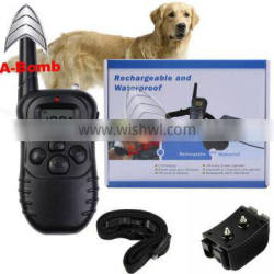 A-bomb Petrainer with Beep / Vibration / Shock Electric PET998DBB 330 Yards Remote Dog Training E-collar